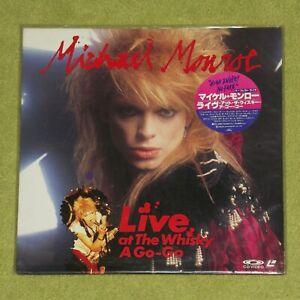 MICHAEL MONROE Live At The Whisky A Go-Go [Hanoi Rocks] - RARE JAPAN LASERDISC
