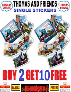 Panini THOMAS AND FRIENDS STICKERS THOMAS THE TANK ENGINE Buy 2 get 10 FREE!!!!