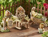 Miniature Fairy Garden Welcome New Baby 5 Piece Set