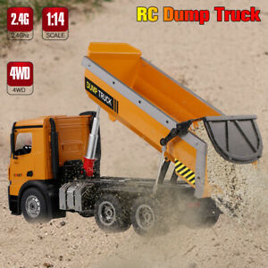 Wltoys 14600 10KM/H 2.4Ghz Full Functional RC Dump Truck Toy-Remote Control U1W3