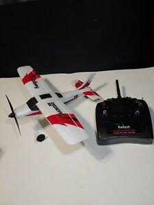 FunTech RC Airplane TrainStar Mini 2.4GHz Remote Control Aircraft RTF Gyro Plane