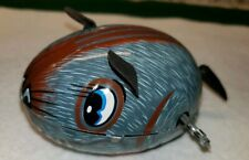 Vintage 1960s YONE Scurry Mouse Tin Wind-Up Toy WORKS GREAT!
