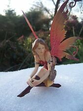 96135.09  FIGURINE  FEE ELFE  ZODIAQUE POISSON  AILE METAL  HEROIC  FANTASY 50%