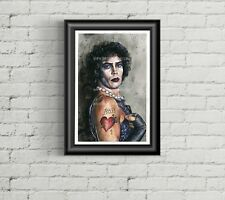 Rocky Horror Picture Show - Tim Curry - frank n furter - Art / Print / Poster