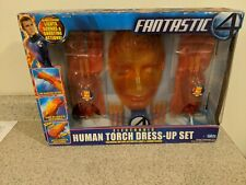 Fantastic 4 Electronic Human Torch Dress-Up Set New in Package Toybiz