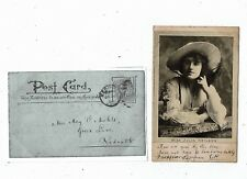 POST CARD EARLY PRINTED OF MISS JULIA NEILSON