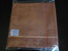 jacquard francais napperon 80x80  modèle lama cuivre nappe