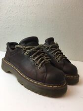 Doc Dr Martens Brown Leather Air Wair Air Cushioned Insoles Shoes Us 6 M