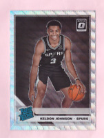 2019/20 Optic KELDON JOHNSON Rookie Silver Wave Holo Prizm RC Fanatics Set Mint