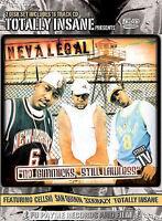 Nevalegal - No Gimmicks Still Lawless CD/DVD Combo (DVD, 2004, Includes Audio CD