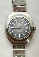 Dugena Tropica Watch Automatic Vintage Swiss Made Wrist Date Mechanical German W