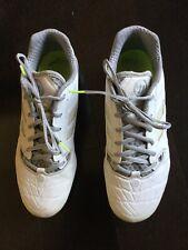 Men's Lacrosse Cleats Warrior Burn 9.5 White