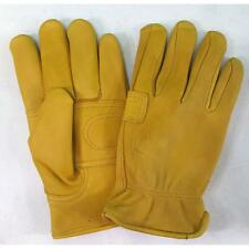 Hand Armor Elkskin Thinsulate Lined Gloves Lrg (L/Tan) 115T-Lg