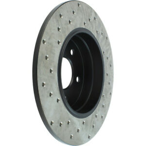 StopTech Drilled Sport Brake Rotor - st128.35034L