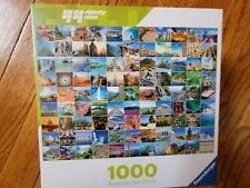 Ravensburger puzzle 1000pc puzzle - 99 Beautiful Places on Earth