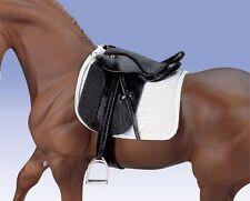 New Breyer Traditional Stoneleigh II Dressage Saddle (scale 1:9)