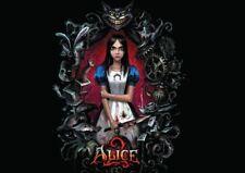 Alice 2 au pays des merveilles folie xbox 360 PS3 new art print poster YF1248
