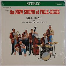 NICK DEAN & DEANS OF DIXIELAND: New Sounds Folk Dixie SEALED Vinyl LP Rare!