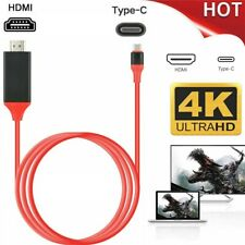 MHL USB Type C to HDMI HDTV TV Cable Adapter Converter For Macbook Android Phone