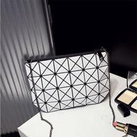 Bao Bao new womens fashion geometric print plaid lattice handbag