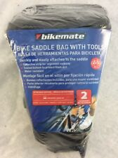 Bikemate Slim Bike Saddle Bag With Tools And Reflective Strip! Free Shipping