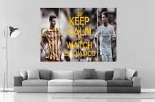 Messi VS ronaldo El Clásico Real Madrid VS Barça 02 Cartel Grande formato A0