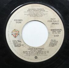 Jazz 45 Michael Franks And S. Renee Diggs - Love Duet / Love Duet On Warner Brot