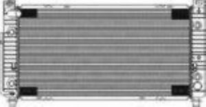 Radiator for Chevy Avalanche 2500 8.1L w/ 4-Speed Automatic + 3/8 Quick Connect