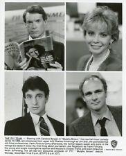 FAITH FORD JOE REGALBUTO FRANK FONTANA MURPHY BROWN ORIGINAL 1987 CBS TV PHOTO