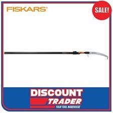 Fiskars 2.2m - 4.5m QuikFit Telescopic Palm Curved Saw - 136605
