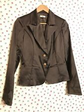 Cache Womens Blazer Jacket Size 2 NWOT Brown Formal $190