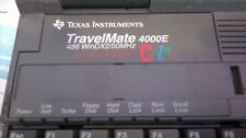 VINTAGE TEXAS INSTRUMENT Laptop TravelMate 4000E AS IS  FOR PARTS OR REPAIR