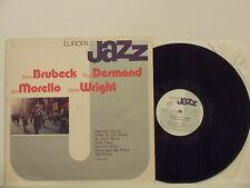 DAVE BRUBECK PAUL DESMOND JOE MORELLO GENE WRIGHT disco LP 33 serie EUROPA JAZZ