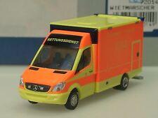 Rietze Mercedes Wietmarscher RTW Feuerwehr Potsdam - 72014 - 1/87