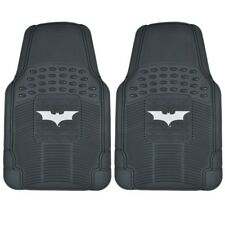Dark Night Batman Rubber Floor Mats Car 2 PC Front Heavy Duty All Weather