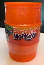 Orange Barrel of Monkeys - Elefun and Friends Game - Hasbro - New Sealed - USA