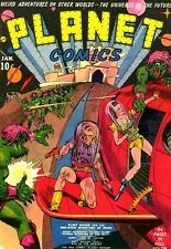 Golden Age Space Comics - Planet Comics, Space Adventures, & more on DVD