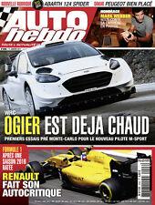 AUTO HEBDO n°2096 NEUF du 11/01/2017 : WRC Ogier & Ford - F1 Renault - Webber