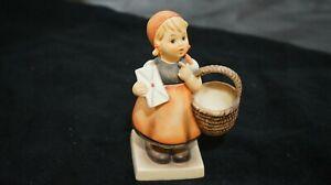 Hummel Goebel Meditation little girl with basket figurine, TMK3