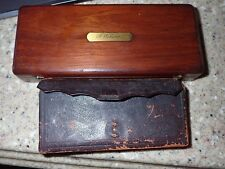 Civil War Carried Pocket Apothecary w/ Contents & Scalpel Set Custer Provenance