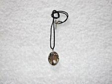 Ex-Display Beige Cristal Facetado Oval Collar Z