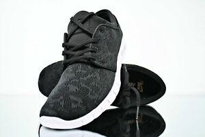 Nike Stefan Janoski Max SB Black & White Men's Skate Shoe 631303 022