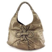 559846daac Salvatore Ferragamo Tote bag Ganchini Gold Woman unisex Authentic Used P554