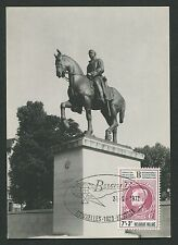 BELGIEN MK 1972 BELGICA PFERD HORSE CHEVAL MAXIMUMKARTE MAXIMUM CARD MC CM d145