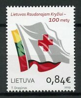 Lithuania 2019 MNH Red Cross 100 Years 1v Set Health Medical Stamps