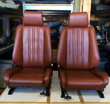 BMW e30 325/318 New Cardinal Red Front Seats Pair For IS & I (1982-91) $1500.00