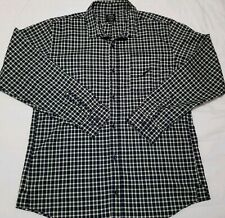 Publish Plaid Green/Blue Button Up Long Sleeve Shirt Sz XL Collared