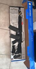 New listing G&G CM16 R8-L Combat Machine AEG Electric Airsoft Gun w/ Red Dot Sight And 2mags