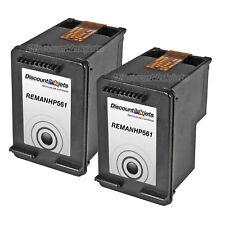 2 CH561WN BLACK Printer Ink Cartridge for HP 61 61 Deskjet 2050 2510 2512 2514