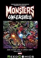 MONSTERS UNLEASHED MONSTER SIZE HUGE OVER-SIZED HARDCOVER Hardback Collects #1-5